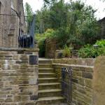 Side Steps leading to cottage